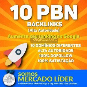 Comprar 10 Backlinks Pbn Alta Qualidade 100% Dofollow Permanente