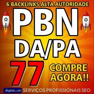 Backlinks 6 Pbn Alto PA/DA 50+ 100% Dofollow Permanente Seo