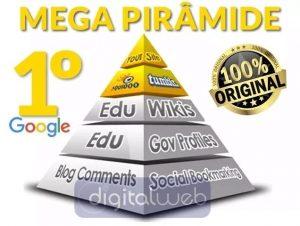 Mega Pirâmide de Backlinks Seguros Alta Autoridade + Brinde 2