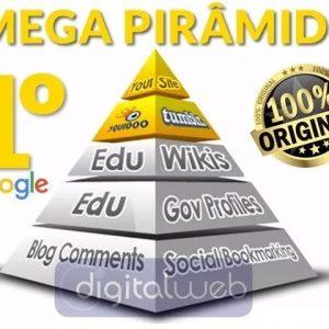 Mega Pirâmide de Backlinks Seguros Alta Autoridade + Brinde