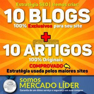 Criação De 10 Blogs Web 2.0 Manual + 10 Artigos