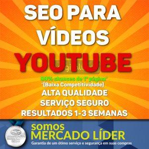 SEO Para Vídeos no Youtube Primeira Página