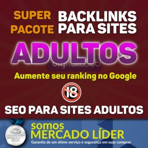 Pirâmide Seo 2100 Backlinks Tiers para Sites Adultos