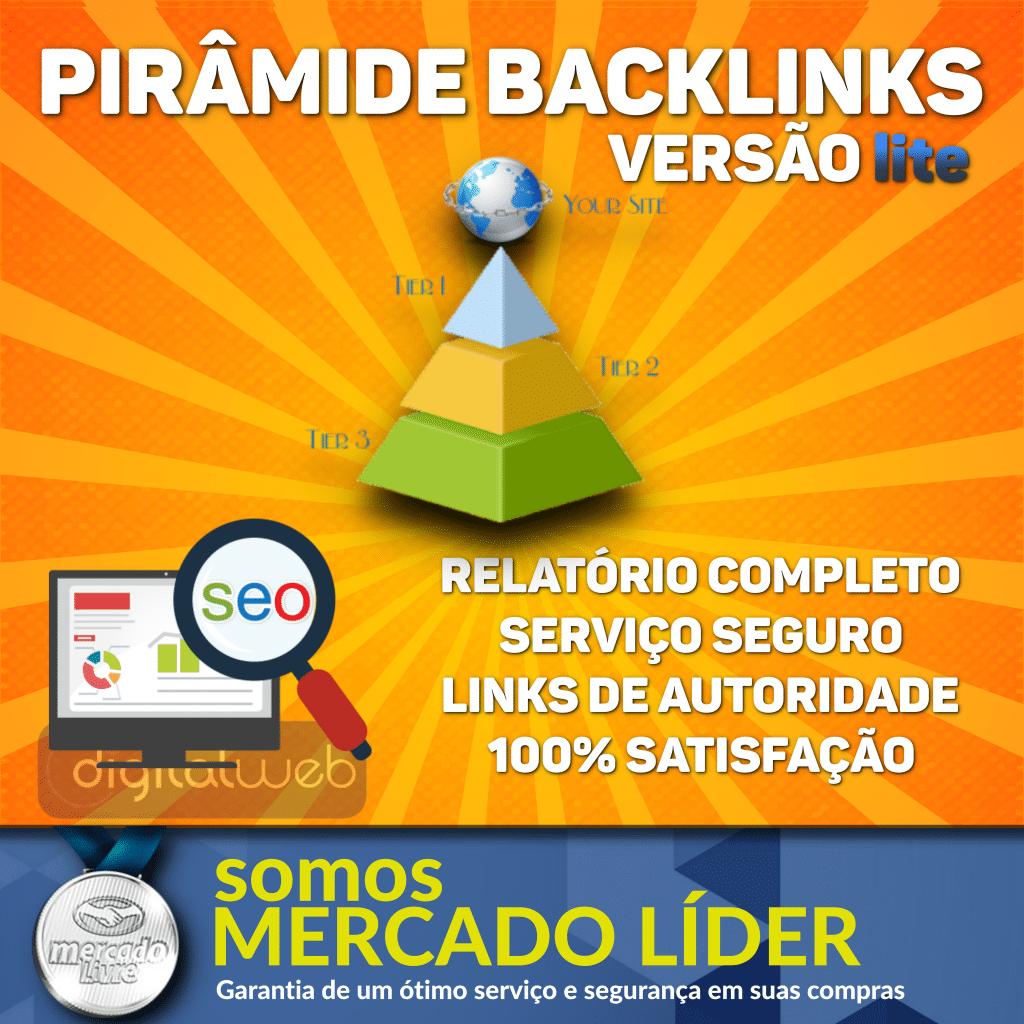 Pirâmide Backlinks Versão Lite Alta Qualidade