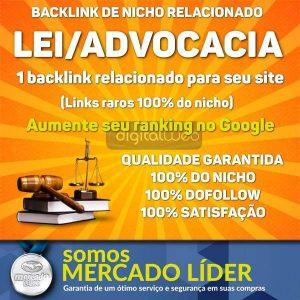Backlink Nicho Lei Advocacia Dofollow Guest Post Seo