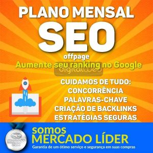 Plano Mensal SEO Off Page Bronze